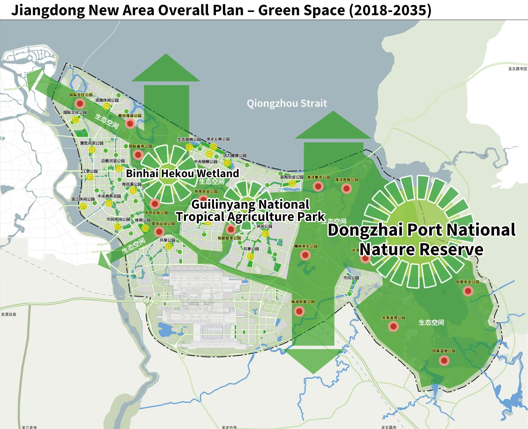Jiangdong New Area Overall Plan