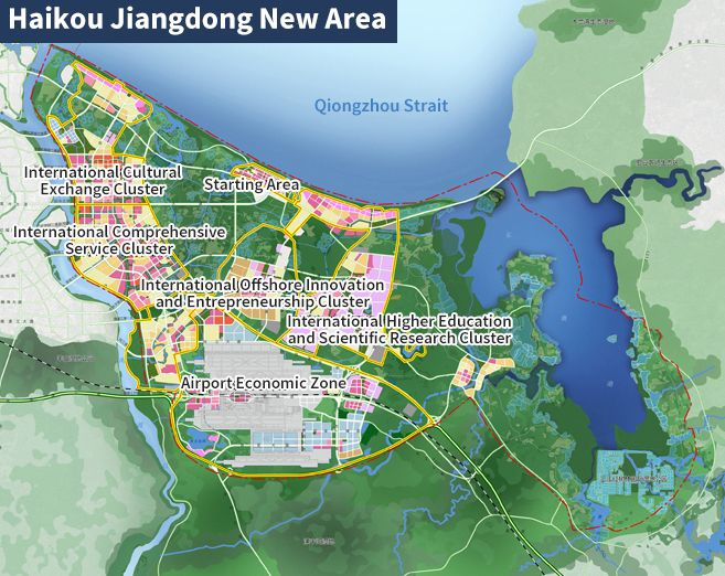 Jiangdong New Area Overall Plan