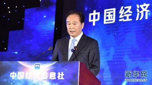 蔡名照:发展经济信息 服务国家战略