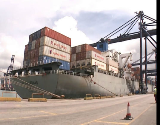 """商界人士谈香港进出口行业:把握""""一带一路""""机遇 渡过难关"""