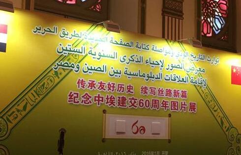 刘慧参加中埃建交六十周年庆祝活动