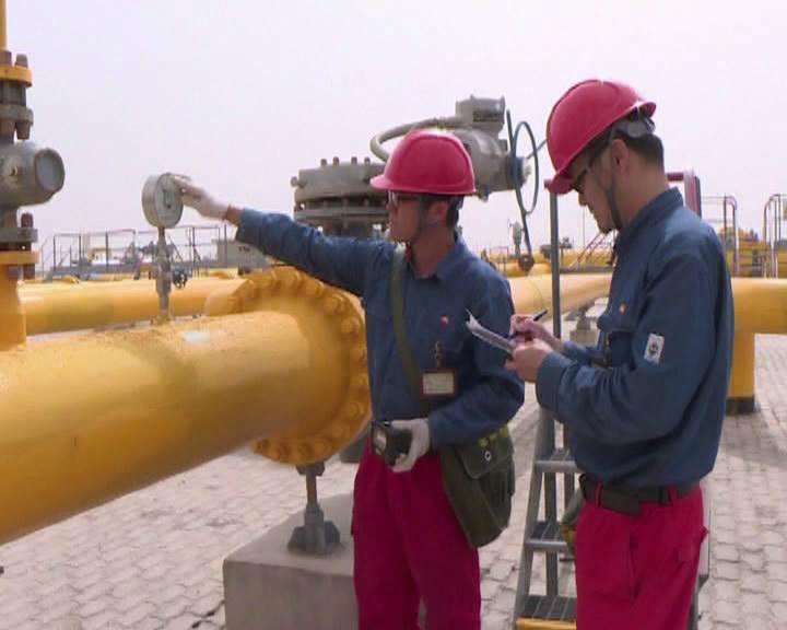 塔里木油田今年上半年天然气累计产量达到120亿立方米
