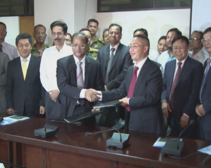 中国中铁签约孟加拉国31亿美元基建项目