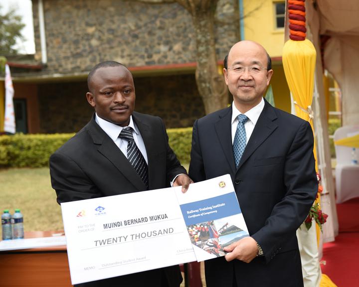中国公司为肯尼亚培训铁路技术人才