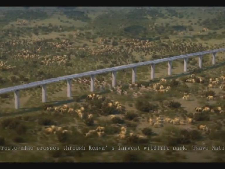 非洲国家驻肯尼亚使节称赞中国公司承建蒙内铁路项目
