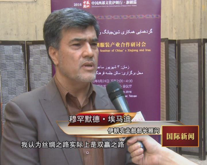 """""""丝绸之路经济带建设与中伊友好交流合作""""论坛在德黑兰举行"""