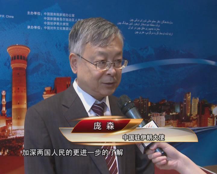 """""""一带一路""""为推进中伊交流架起新桥梁——访中国驻伊朗大使庞森"""