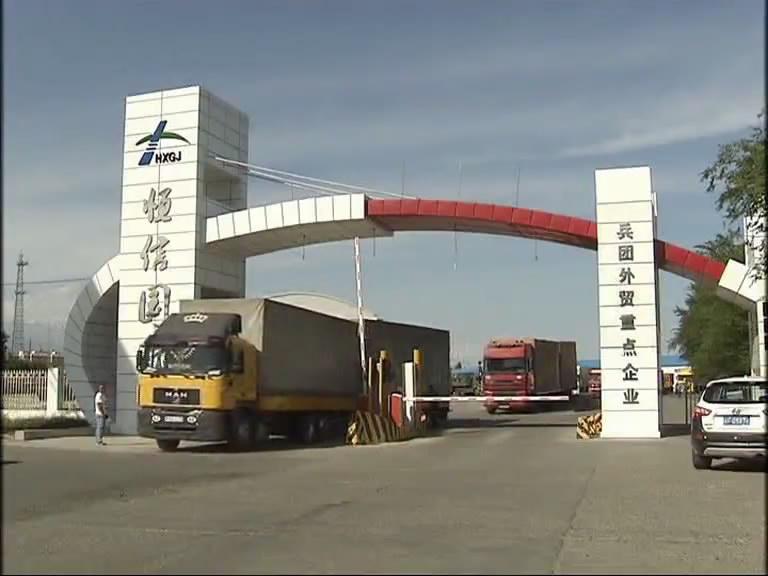 今年前7月霍尔果斯口岸进出口货运量超1600万吨