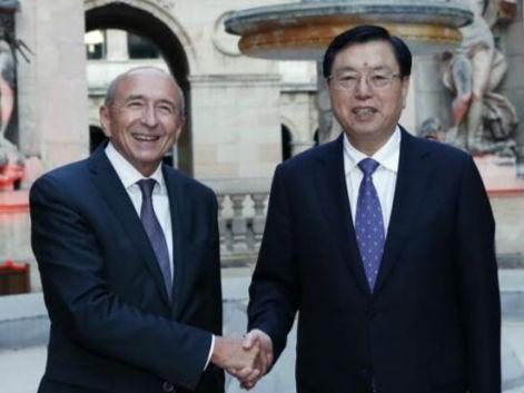 张德江对法国进行正式友好访问