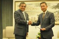 哥伦比亚驻华大使:哥和平稳定将促进中哥经贸合作升级