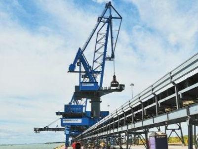 世界最大海绵铁工厂在美国得州建成投产