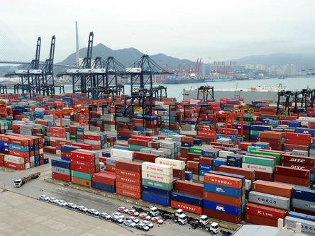 香港去年进出口货量同比上升