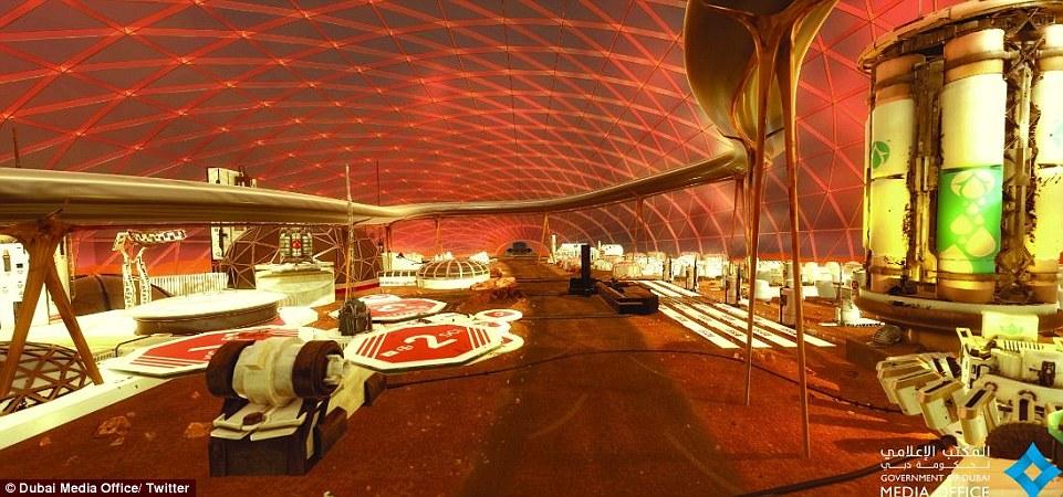 阿联酋方面表示,将在2117年底完成在火星的第一个城市建设,以更好地了解这个红色星球。