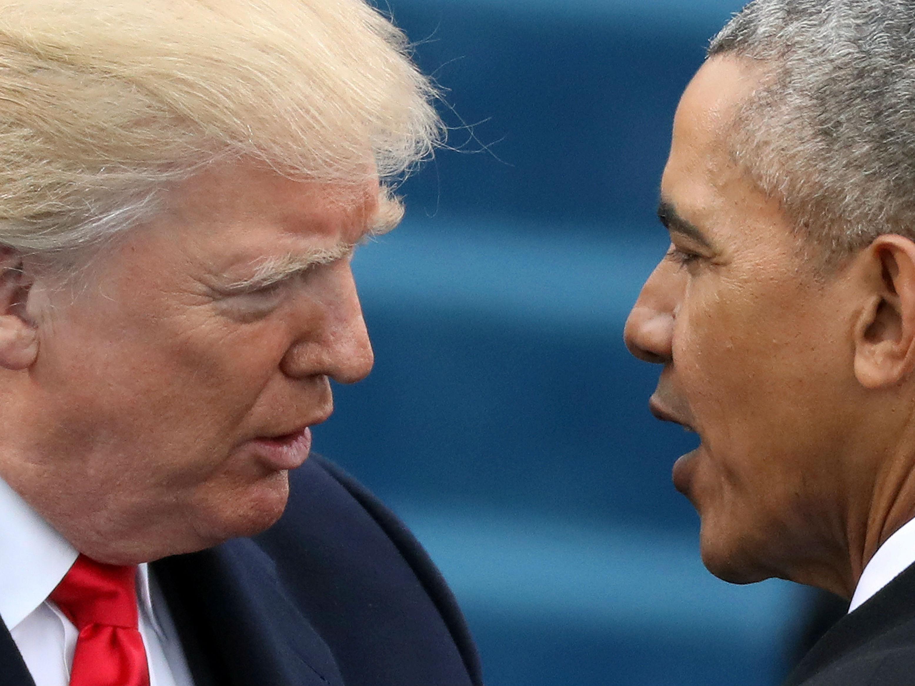 特朗普说去年大选前曾被奥巴马政府监听 奥巴马否认
