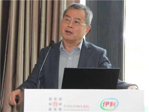 中国社会科学院学部委员、国家金融与发展实验室理事长李扬