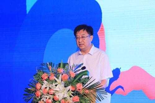 宁夏自治区旅游发展委员会主任徐晓平致辞(新华社记者 周懿 摄)