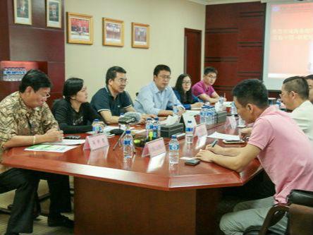 中国商务部外贸司周惠副司长一行考察中国·印尼经贸合作区