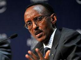 卡加梅高票连任卢旺达总统