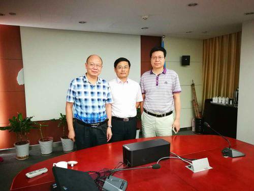 安徽省安庆市商务局、口岸办到访中非莱基