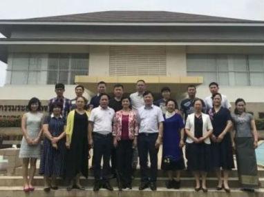 广西工商联代表团、重庆工商联代表团分别考察泰中罗勇工业园