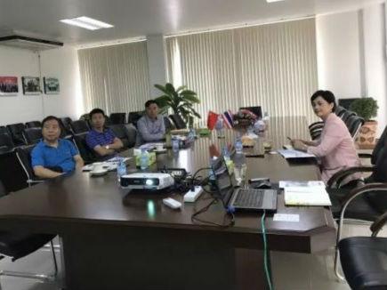 中国·印尼经贸合作区代表团莅临考察泰中罗勇工业园