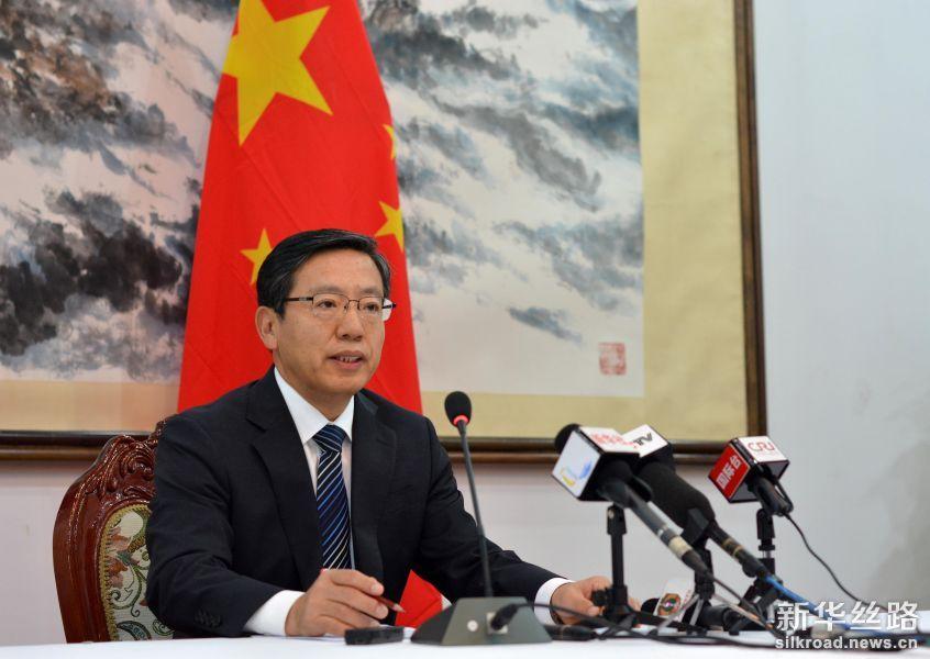 中国大使表示中方将配合老挝开展旅游年活动