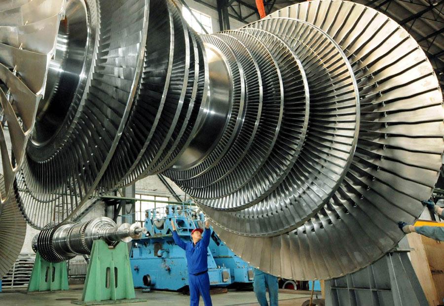 100万千瓦超超临界汽轮机低压转子