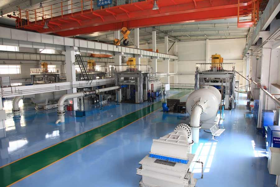 300米高水头水力发电试验台