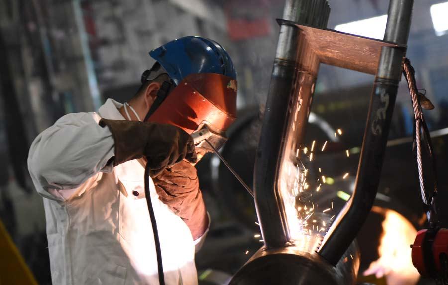 焊工作业现场