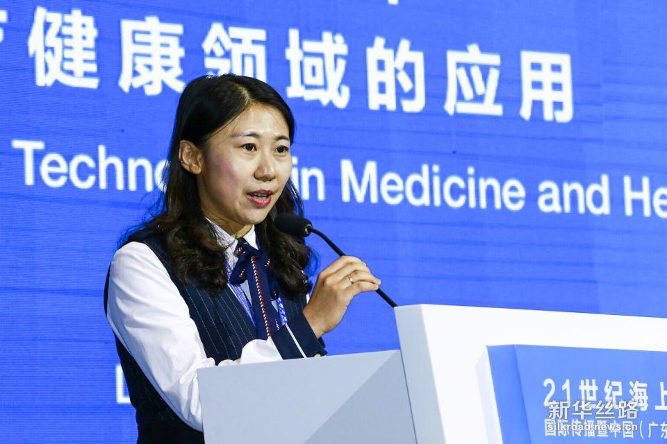 深圳华大基因股份有限公司副总裁杜玉涛在论坛上发言