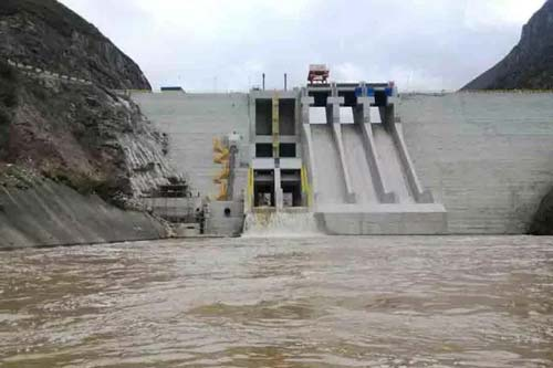 厄瓜多尔美纳斯水电项目大坝开始蓄水