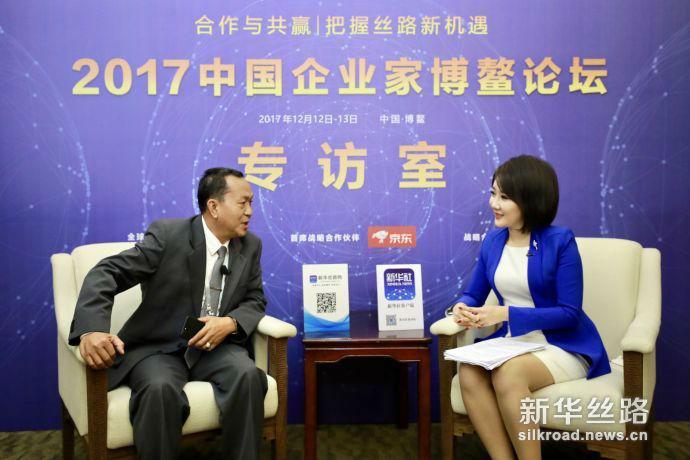 老挝国家通讯社社长顺通:中老精诚合作实现利益共享