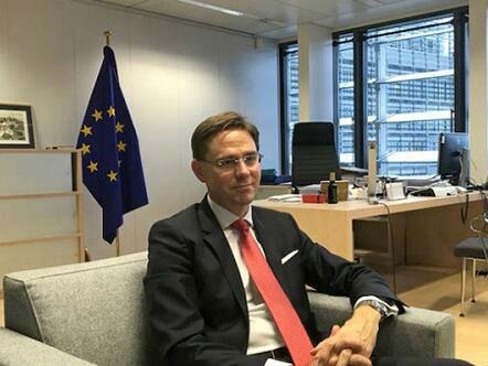 """欧盟委员会副主席:欧投行愿与亚投行合作支持""""一带一路"""""""