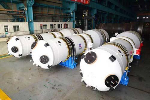 """""""华龙一号""""K3蒸汽发生器水压试验成功 哈电制造岁末再添硕果"""