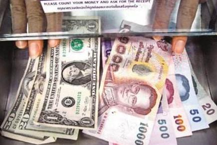 泰铢对美元汇率创逾3年来新高