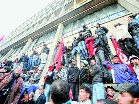 突尼斯抗议示威折射经济困局