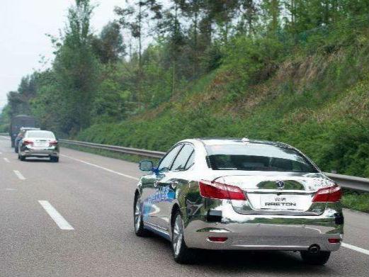 中国新能源车企与阿联酋合作开发自动驾驶汽车