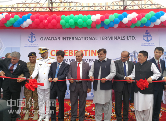 瓜达尔港开通集装箱班轮航线 连通巴基斯坦和中东地区2