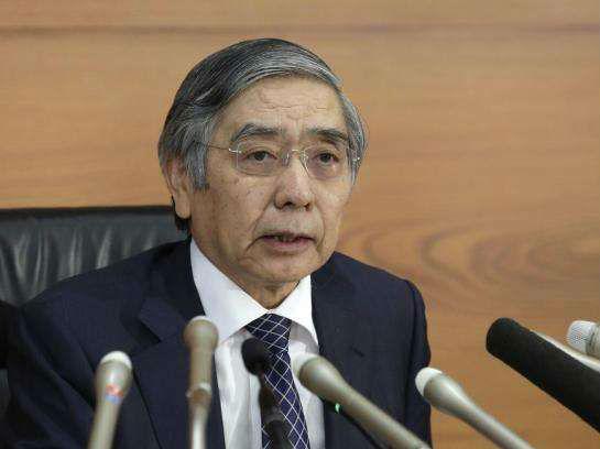 日本国会同意黑田东彦留任日本央行行长