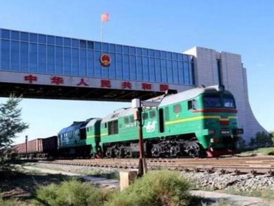 中蒙最大铁路口岸货运量创新高