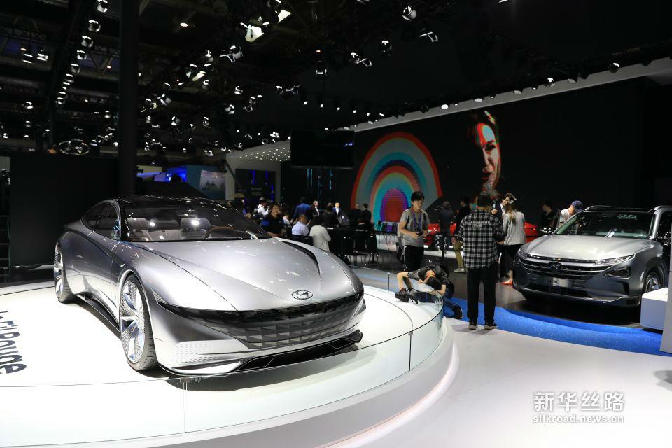 2018(第十五届)北京国际汽车展览会现场(新华社记者 叶琼摄)
