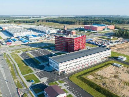 日新月异的中白工业园