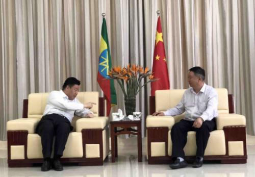 中国国际工程咨询有限公司总经理王安到访东方工业园