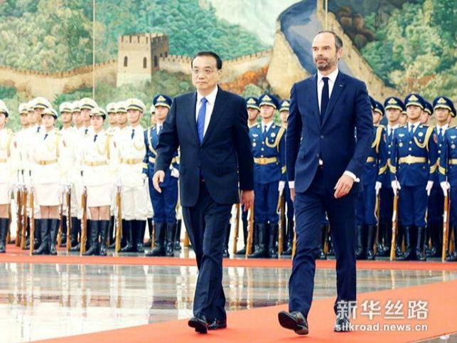 李克强同法国总理菲利普举行会谈时强调 打造更加坚固、富有活力的中法关系