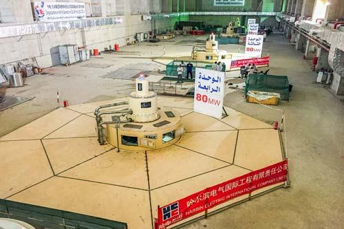 苏丹上阿特巴拉水电项目机组全部并网发电