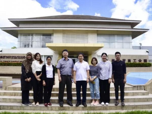 泰国国家发展管理研究生院(NIDA)师生代表参观泰中罗勇工业园