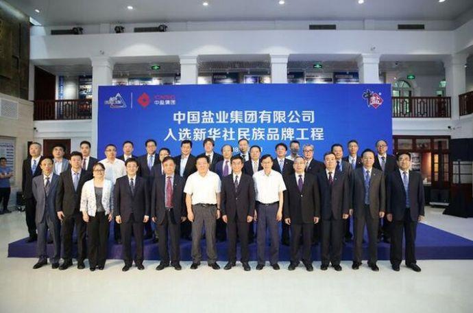 中盐集团李耀强:新华社民族品牌工程助力中盐品牌价值提升1