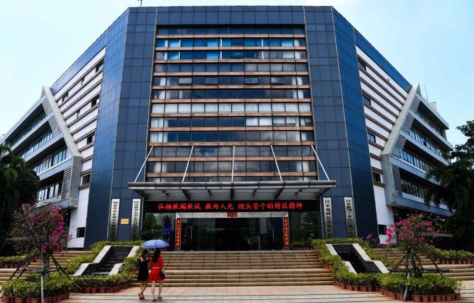 这是5月24日拍摄的海南生态软件园的孵化楼。新华社记者杨冠宇摄
