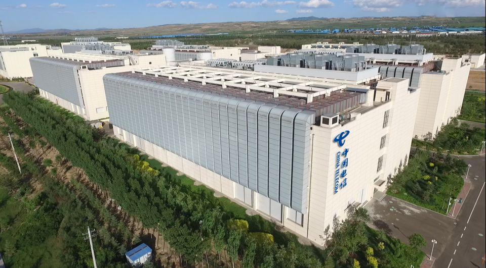 中国电信云计算信息园区机楼外景3