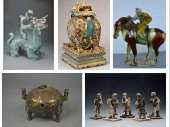 """""""华夏瑰宝""""大型中国文物展在沙特开幕"""